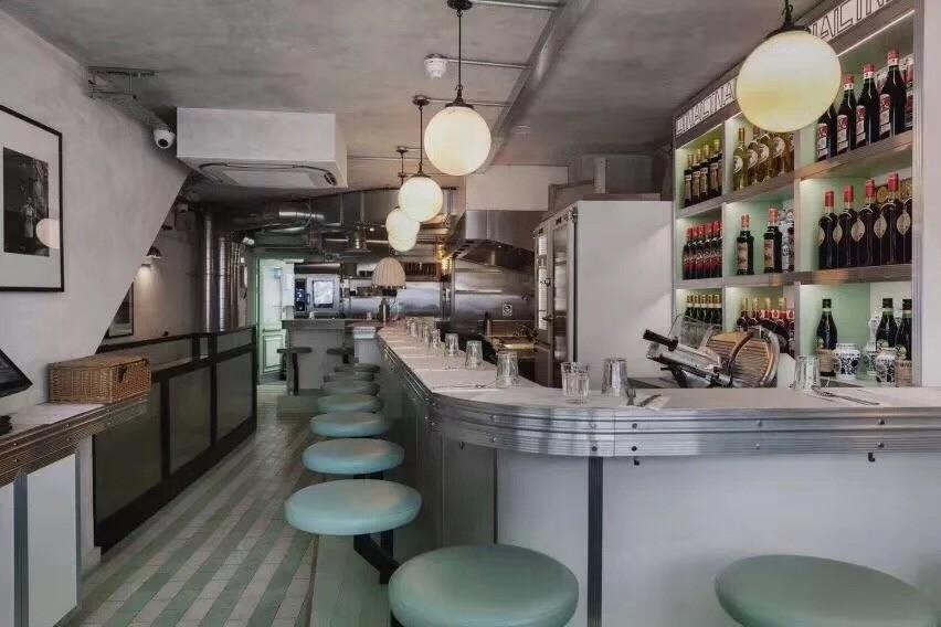2019洛可可餐厅效果图 2019洛可可吧台装修效果图大全
