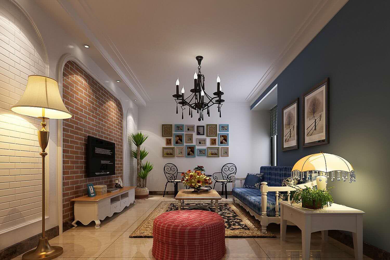 175平简欧风格三居室装修效果图