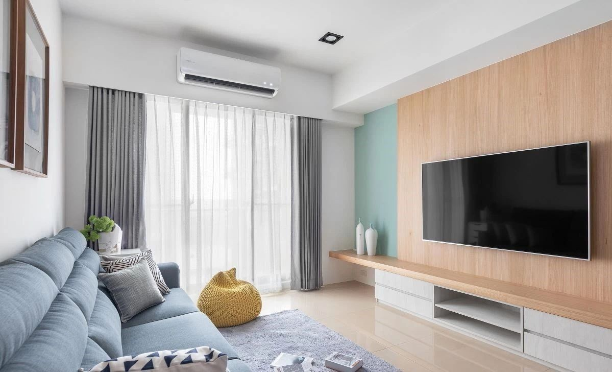 2室1卫1厅89平米北欧风格