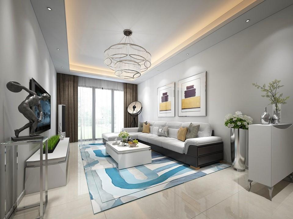 2020后现代90平米装饰设计 2020后现代三居室装修设计图片