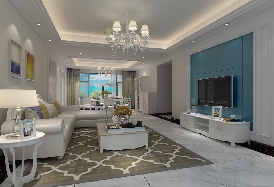 2020現代歐式70平米設計圖片 2020現代歐式二居室裝修設計