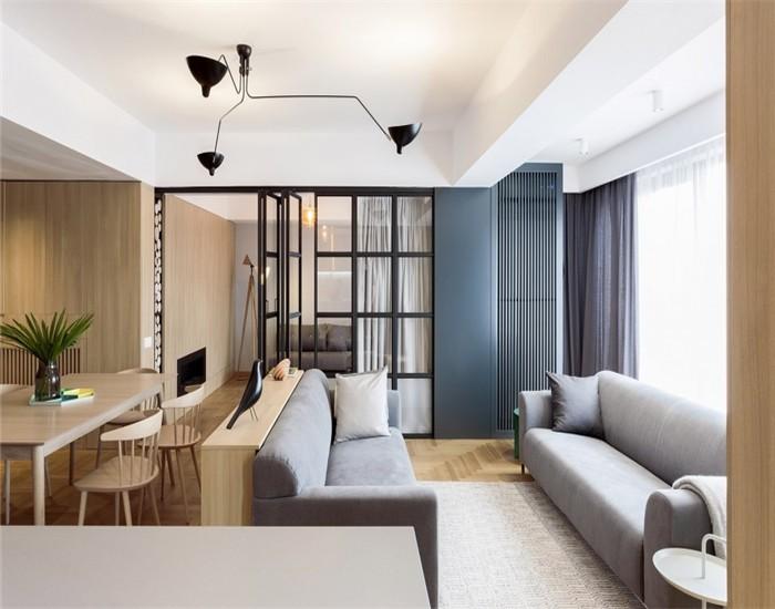 3室2卫2厅120平米现代风格