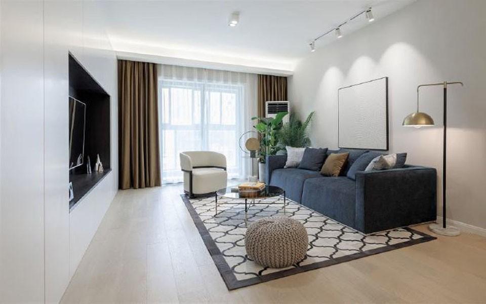 3室1卫1厅118平米简约风格