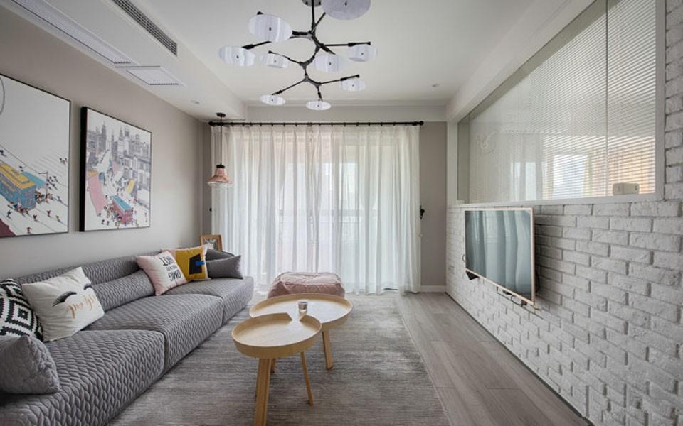 2室1卫1厅67平米北欧风格