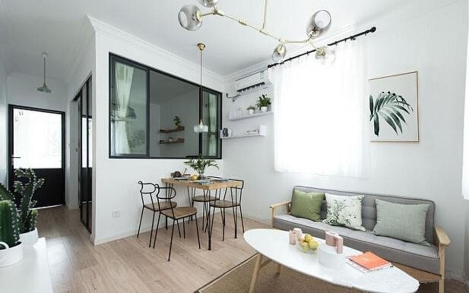 2室1卫1厅50平米北欧风格