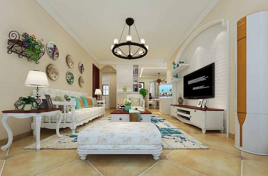 3室1卫2厅90平米田园风格