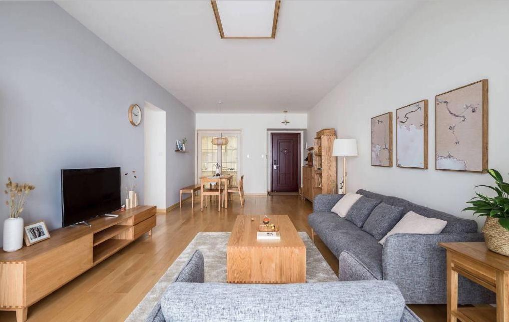 3室2卫2厅100平米日式风格