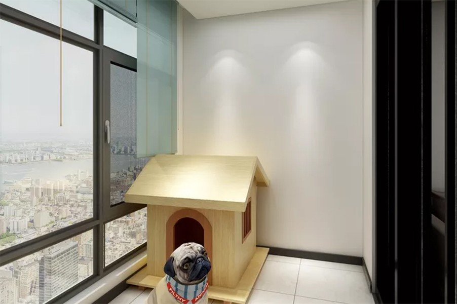 2020新中式阳台装修效果图大全 2020新中式地砖装修效果图大全