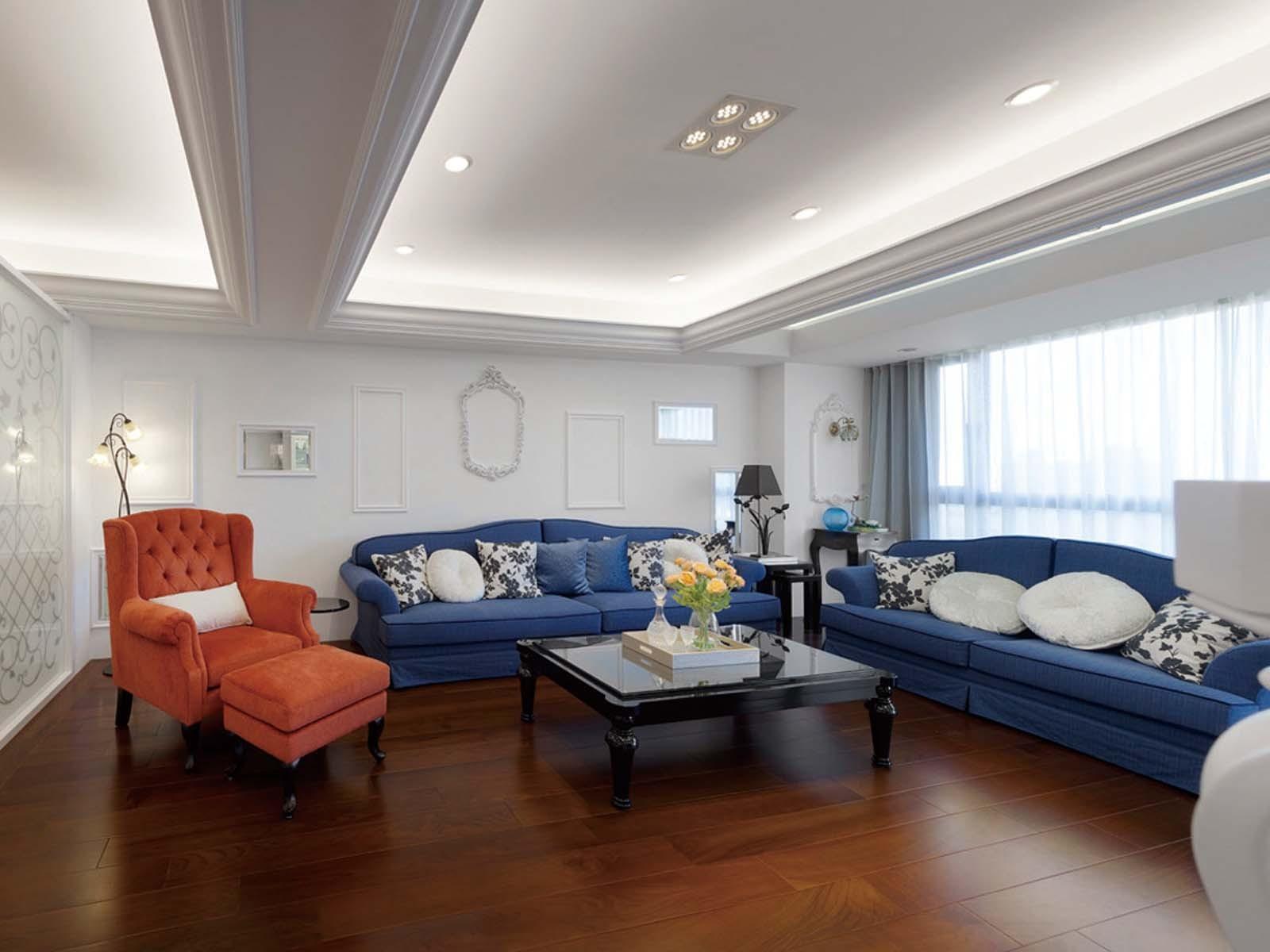 2019法式110平米装修设计 2019法式三居室装修设计图片