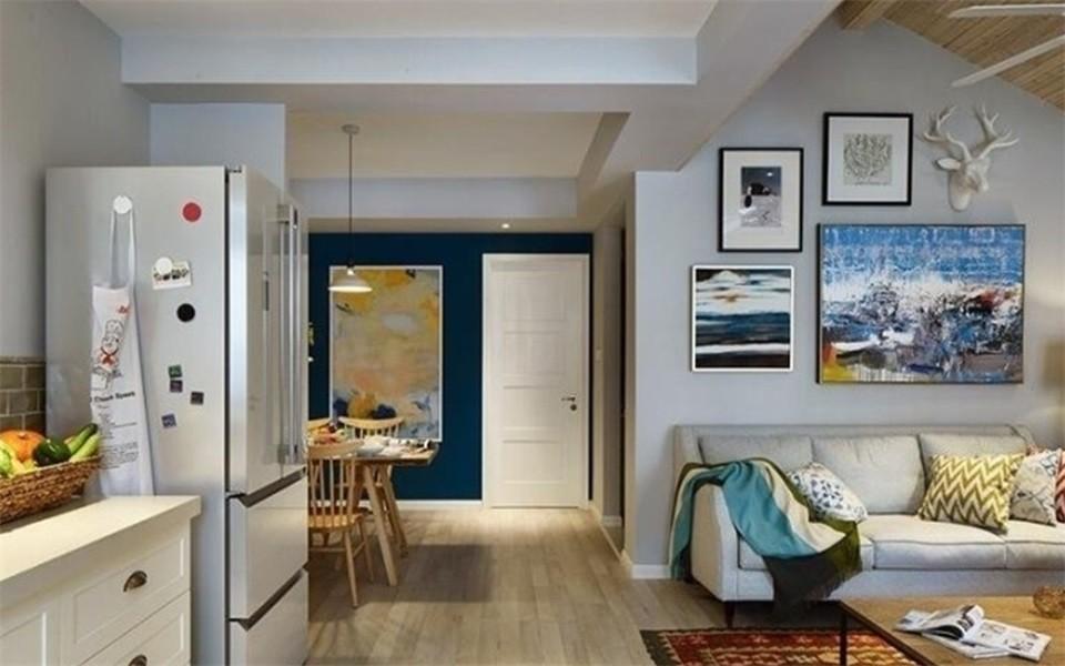 2020韩式70平米设计图片 2020韩式二居室装修设计