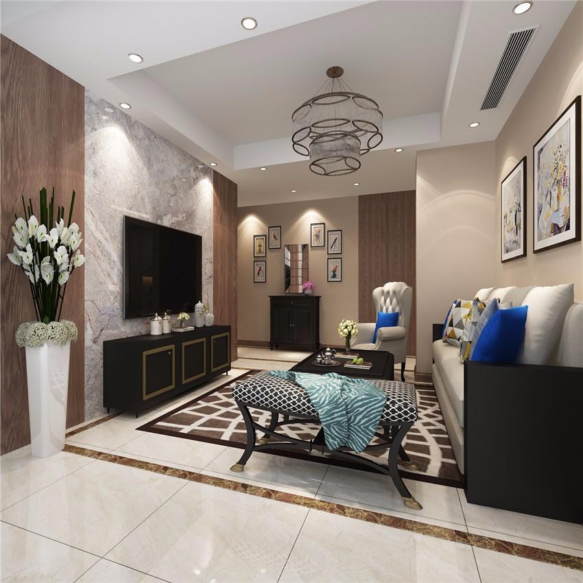 3室2卫2厅89平米美式风格