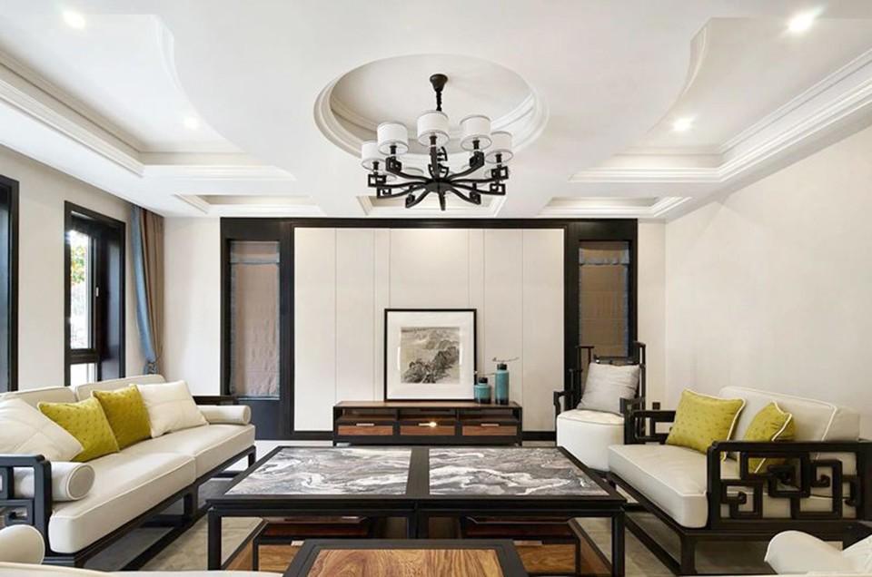 2020中式古典客厅装修设计 2020中式古典沙发装修设计