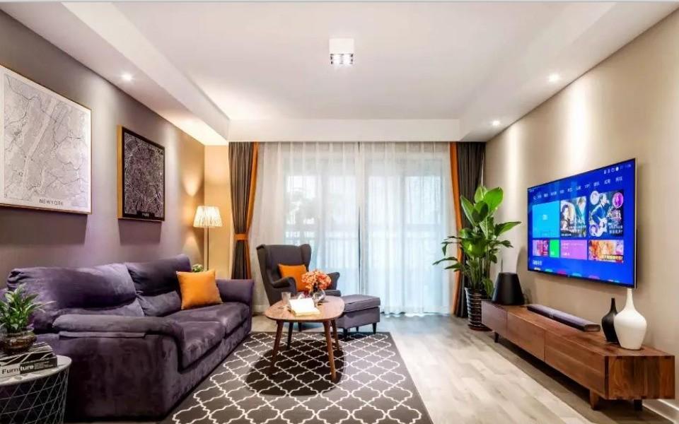 2室2卫2厅北欧风格