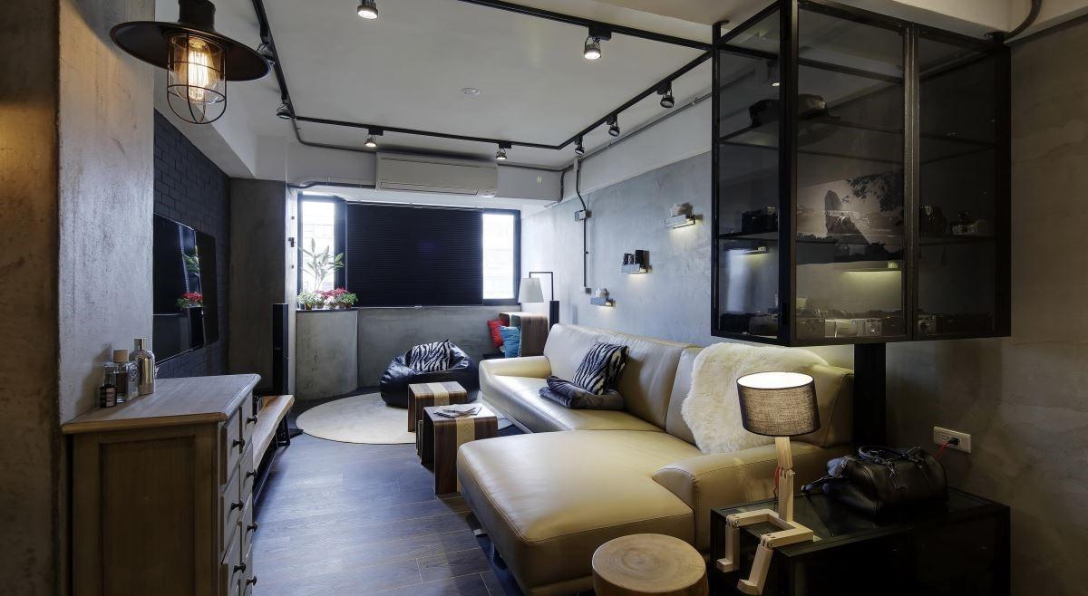 2021后现代60平米以下装修效果图大全 2021后现代一居室装饰设计