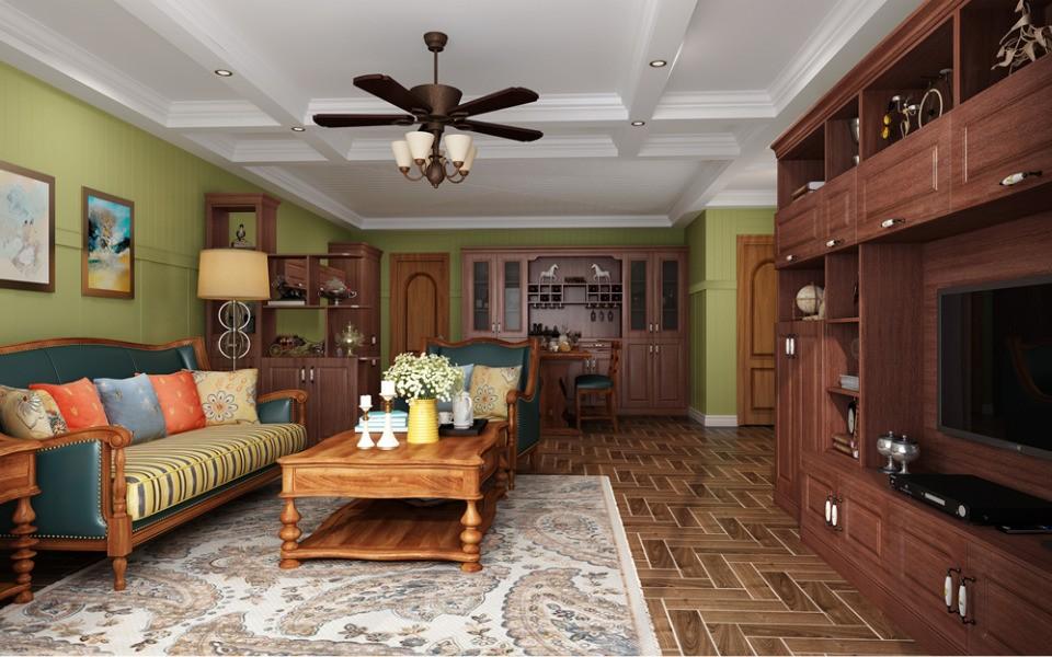 2室1卫2厅美式风格