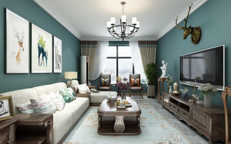2019古典90平米装饰设计 2019古典三居室装修设计图片