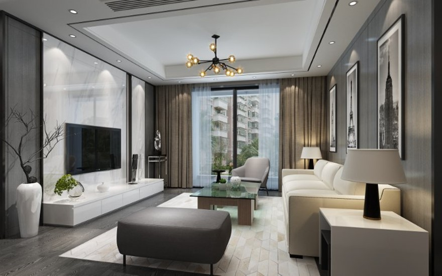 4室2卫2厅现代简约风格