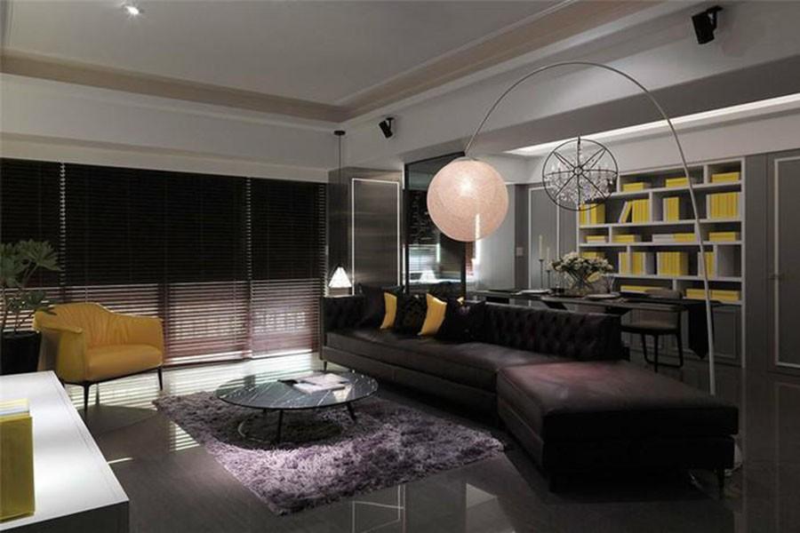162平混搭风格三居室装修效果图