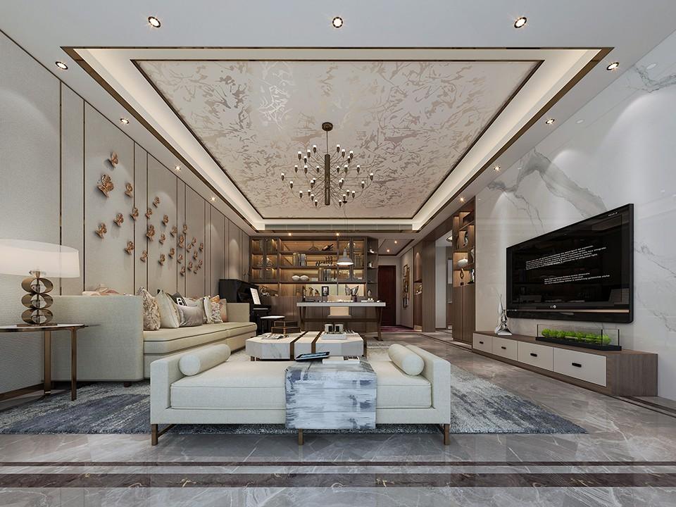 3室2卫2厅145平米简约风格