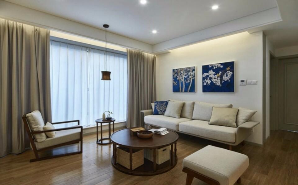 2室1卫2厅77平米现代简约风格