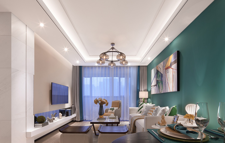 3室1卫1厅106平米简欧风格