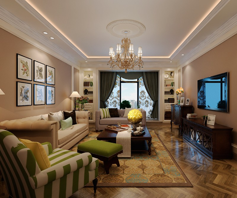 4室3卫2厅177平米欧式风格