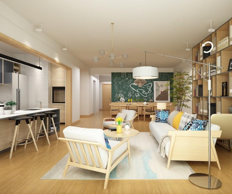 3室2卫2厅150平米日式风格