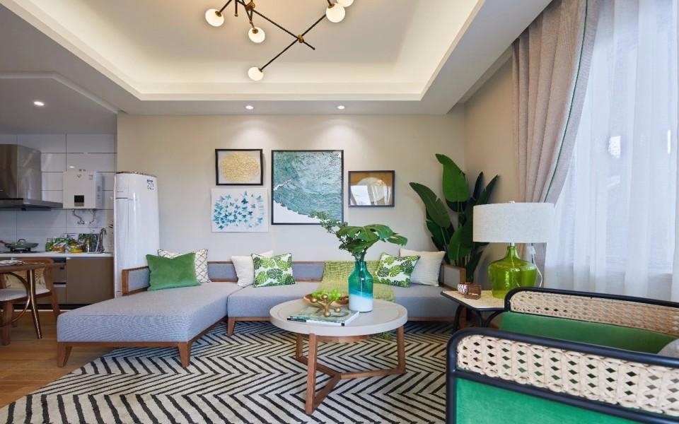 2021东南亚70平米设计图片 2021东南亚二居室装修设计