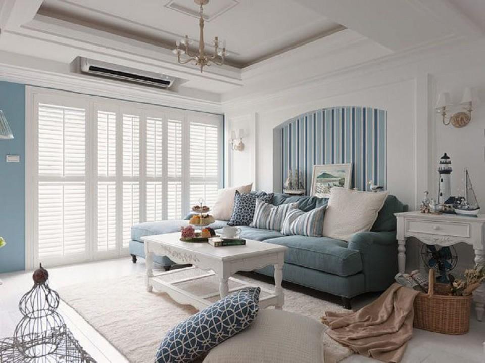 3室2卫2厅80平米地中海风格