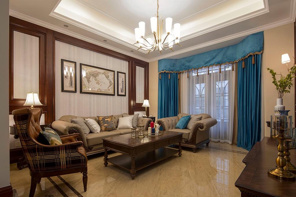 3室2卫3厅300平米美式风格