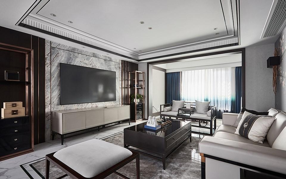 2019新中式90平米装饰设计 2019新中式复式效果图