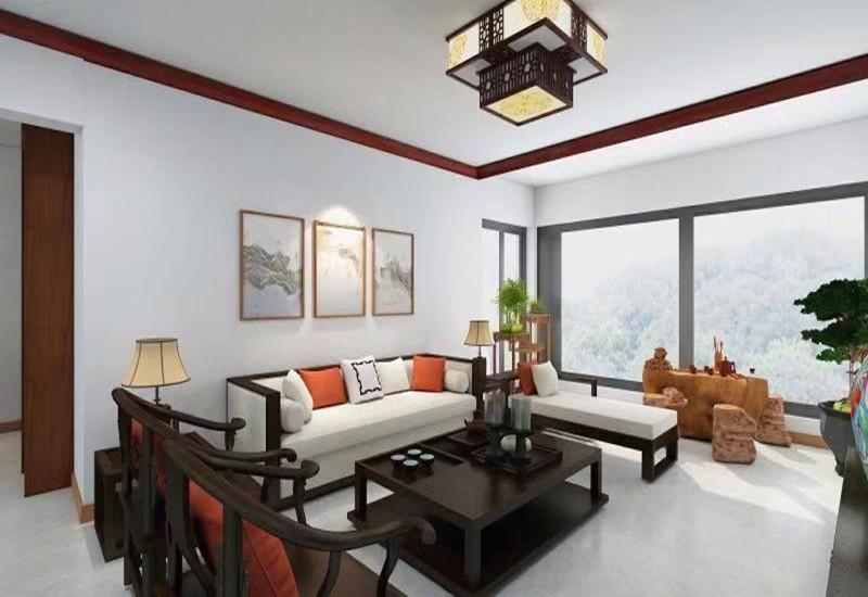 3室2卫1厅127平米简单风格