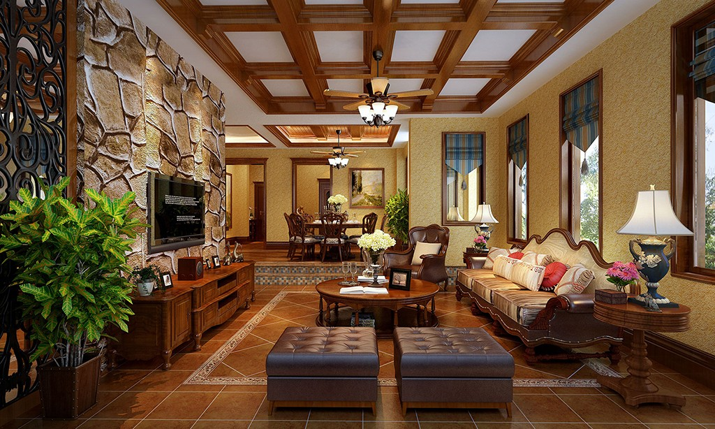 4室2卫2厅美式风格