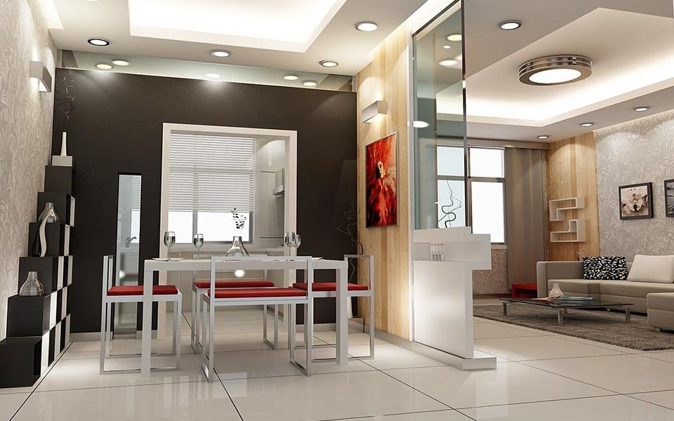 157平现代简约风格两居室装修效果图
