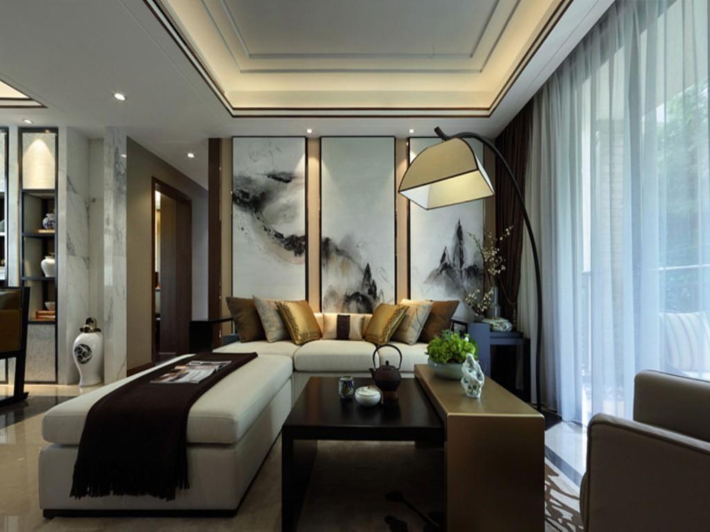 2室1卫2厅160平米现代中式风格