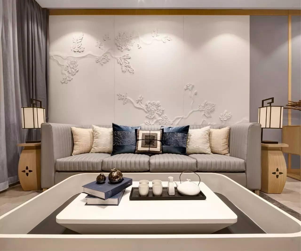 3室2卫2厅160平米新中式风格