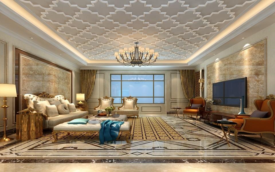 4室4卫2厅330平米欧式风格