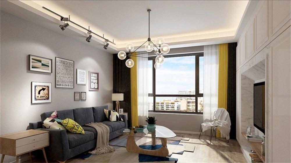 3室1卫2厅96平米北欧风格