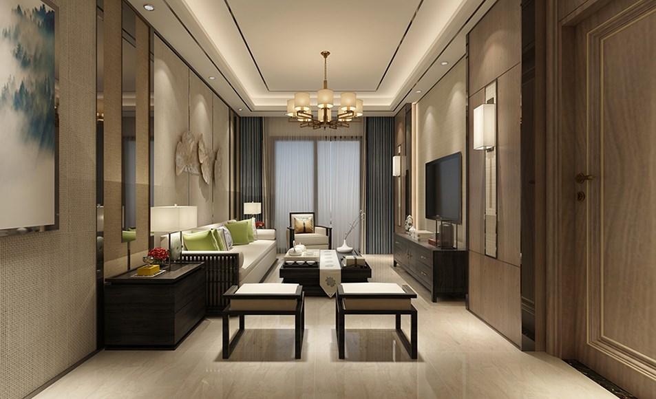 2020中式古典150平米效果圖 2020中式古典三居室裝修設計圖片