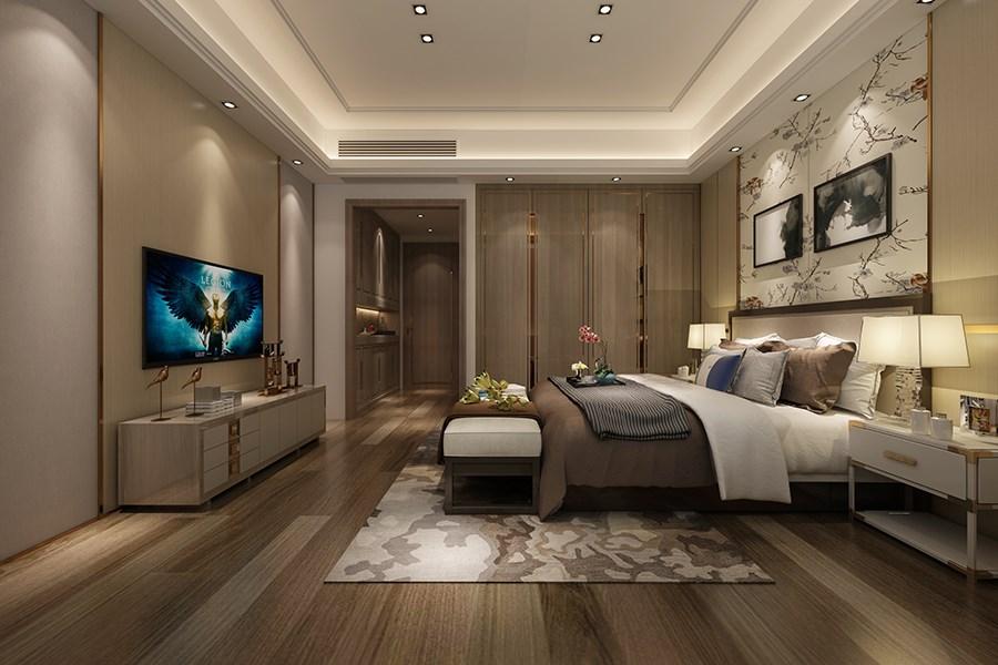 2020中式古典卧室装修设计图片 2020中式古典吊顶设计图片