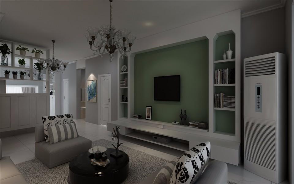 3室2卫1厅130平米现代简约风格