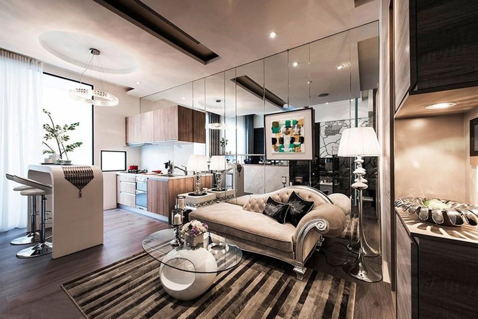 2019欧式60平米以下装修效果图大全 2019欧式一居室装饰设计