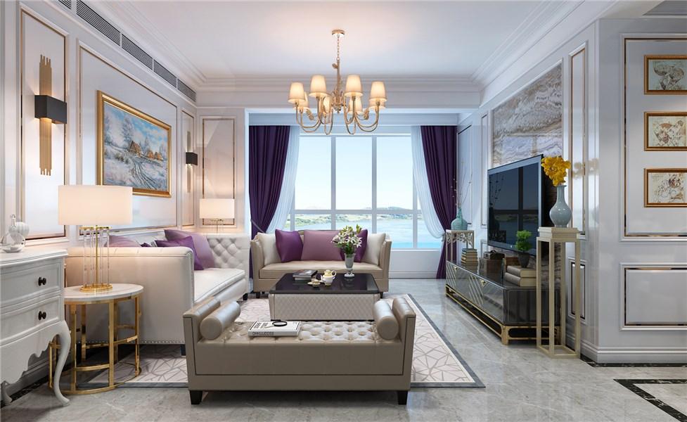 173平现代风格四居室装修效果图