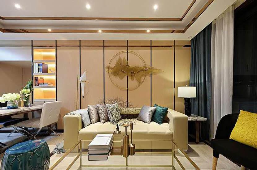 3室2卫2厅88平米欧式风格