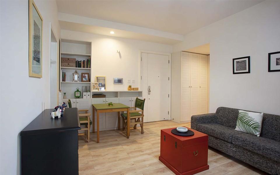 57平现代简约风格公寓装修效果图