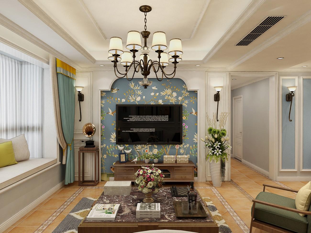 3室2卫1厅140平米中式风格