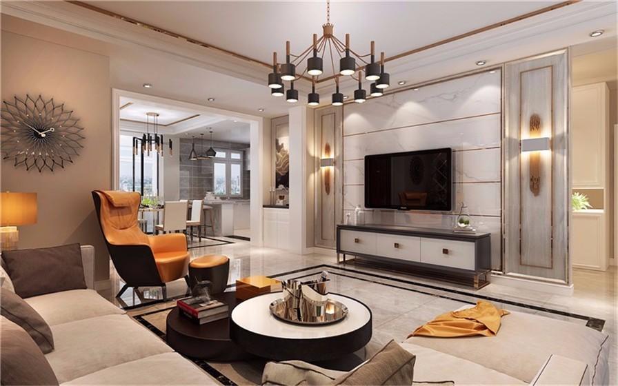 3室2卫2厅160平米现代简约风格