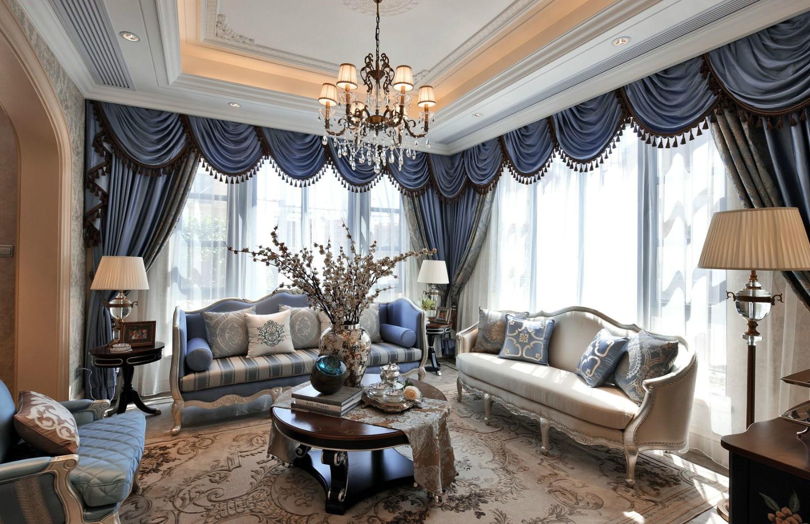 2021法式240平米装修图片 2021法式别墅装饰设计
