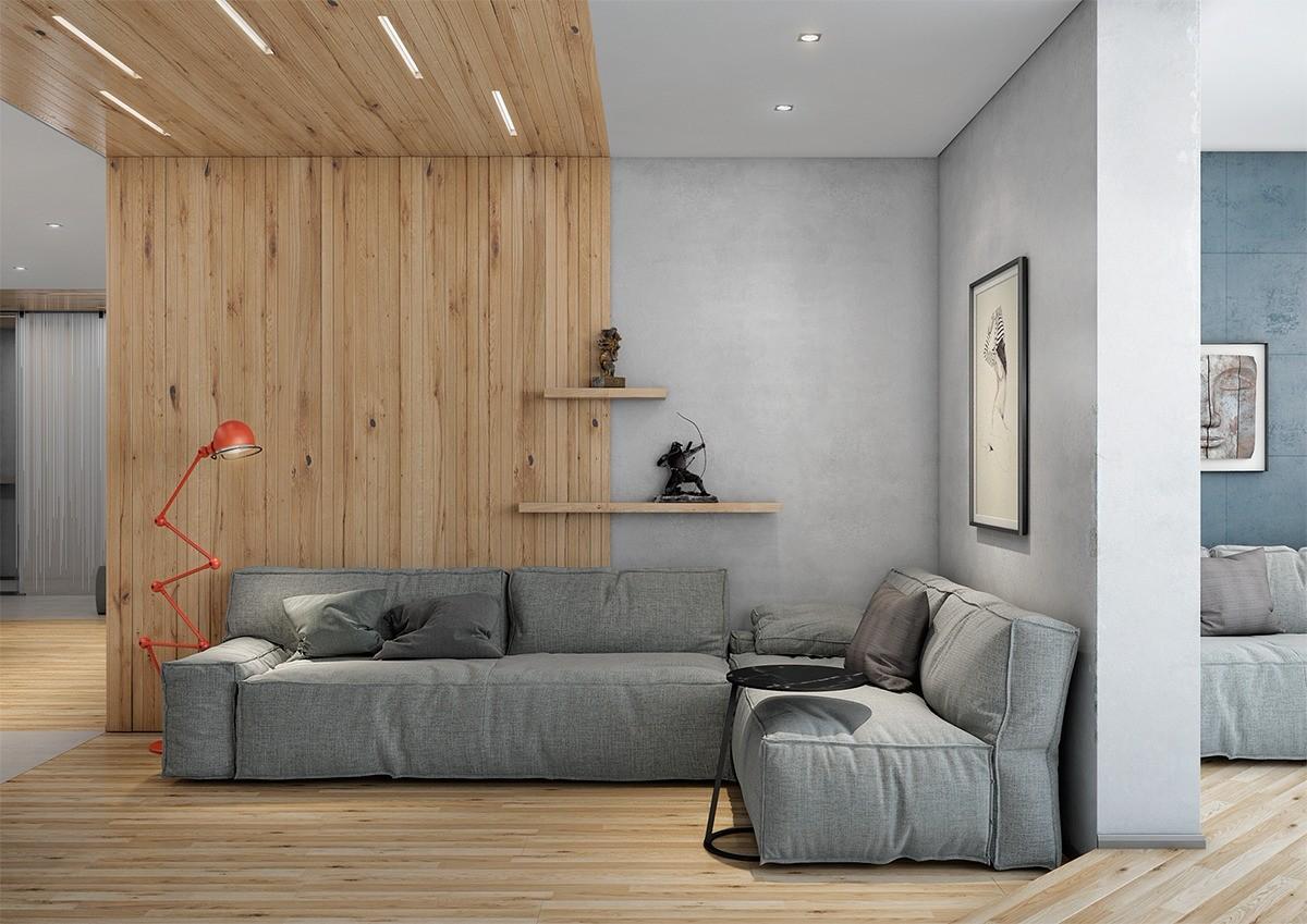 92平现代简约风格套房装修效果图