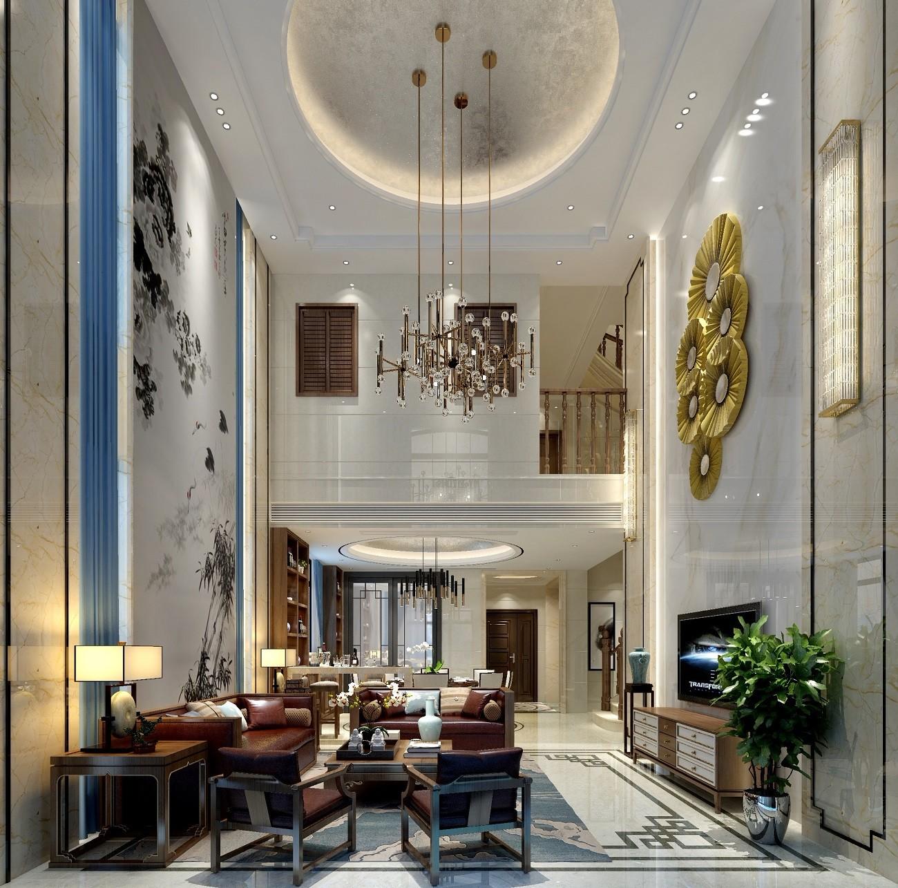 2020簡中300平米以上裝修效果圖片 2020簡中別墅裝飾設計
